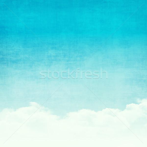 Сток-фото: Гранж · аннотация · небе · синий · Солнечный · текстуры