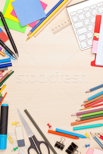 School and office supplies Stock photo © karandaev