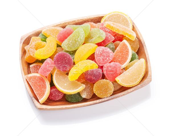 Colorful marmalade Stock photo © karandaev