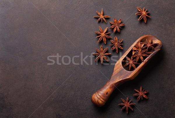 вино Ингредиенты специи звездой анис каменные Сток-фото © karandaev