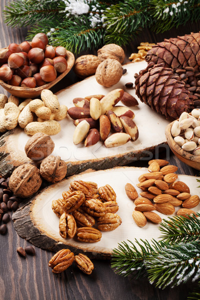 Various nuts Stock photo © karandaev