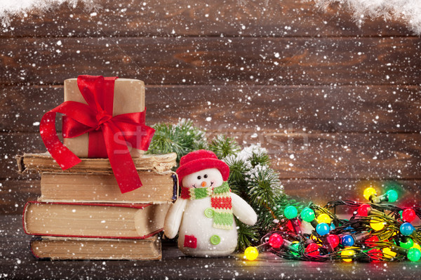 Christmas greeting card Stock photo © karandaev