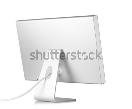 Blauw geïsoleerd witte kantoor internet Stockfoto © karandaev