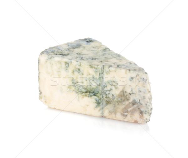 作品 ソフト ブルーチーズ 孤立した 白 食品 ストックフォト © karandaev