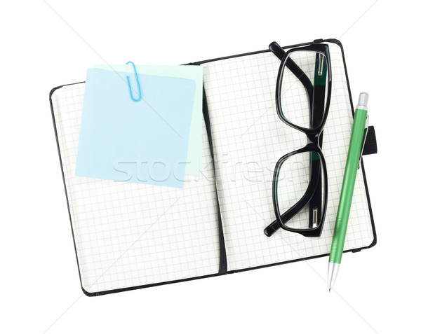 Office supplies and glasses Stock photo © karandaev