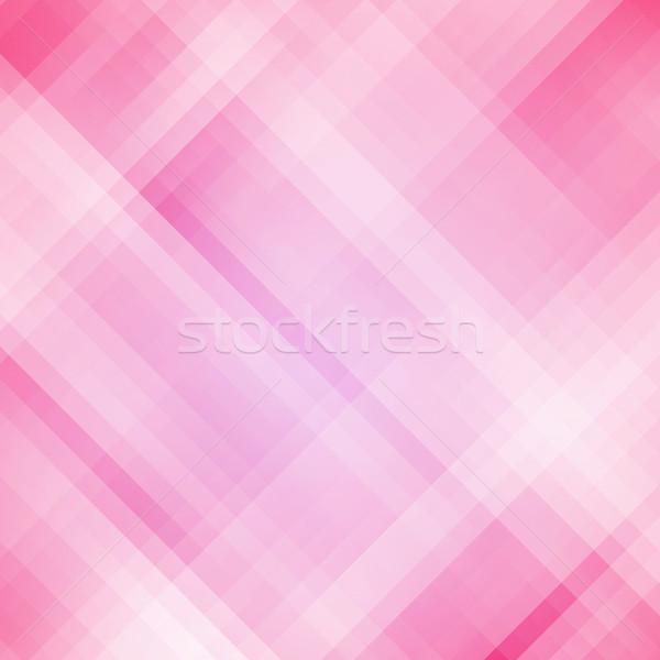 Résumé rose géométrique pixel modèle affaires Photo stock © karandaev