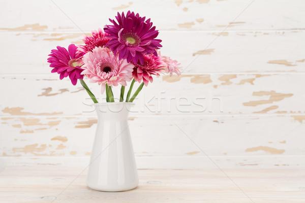 Сток-фото: цветы · букет · стены · пространстве · цветок