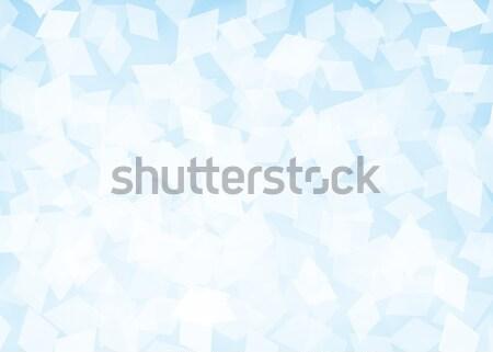Abstract rhombus blue background Stock photo © karandaev