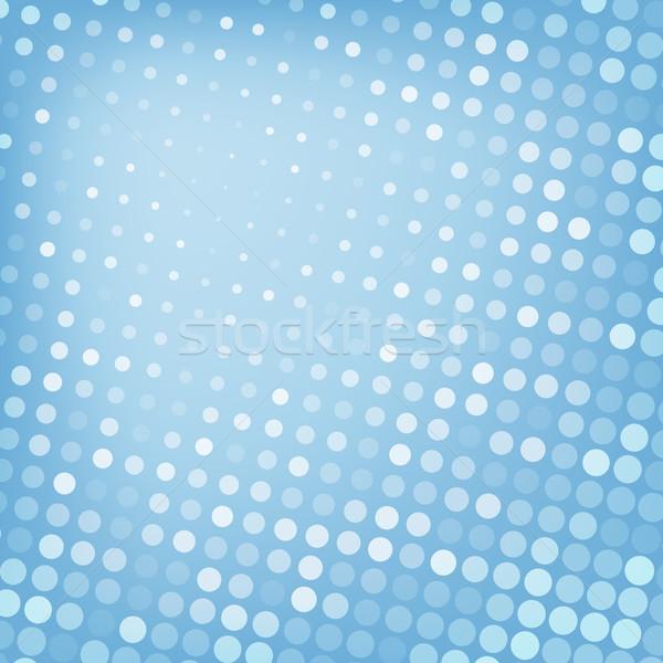 Abstract punteggiata blu texture business design Foto d'archivio © karandaev