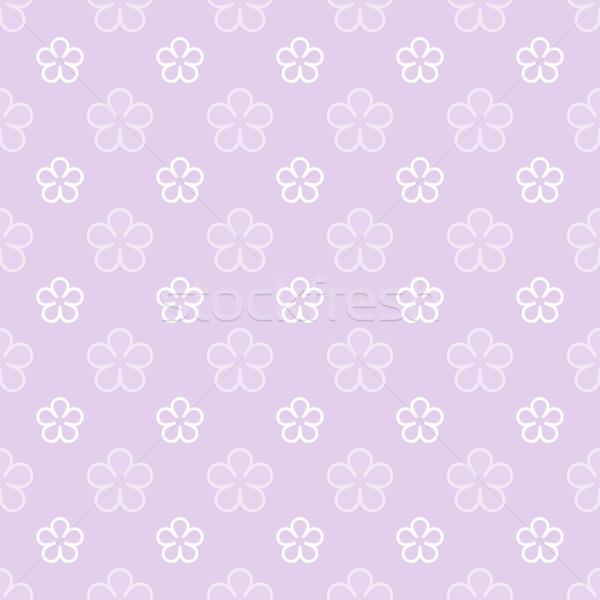 Bloem violet textuur voorjaar ontwerp Stockfoto © karandaev