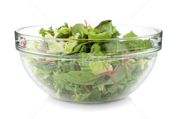 Healthy green salad Stock photo © karandaev
