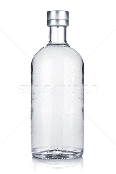 Bottle of russian vodka Stock photo © karandaev