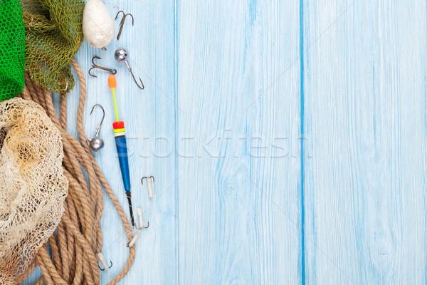 Fishing equipment Stock photo © karandaev