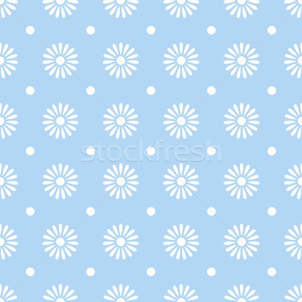 Flor azul papel textura primavera Foto stock © karandaev