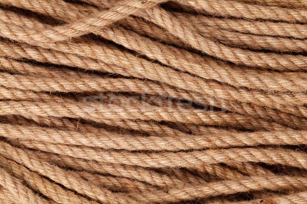 Vieux marines corde texture mer design Photo stock © karandaev