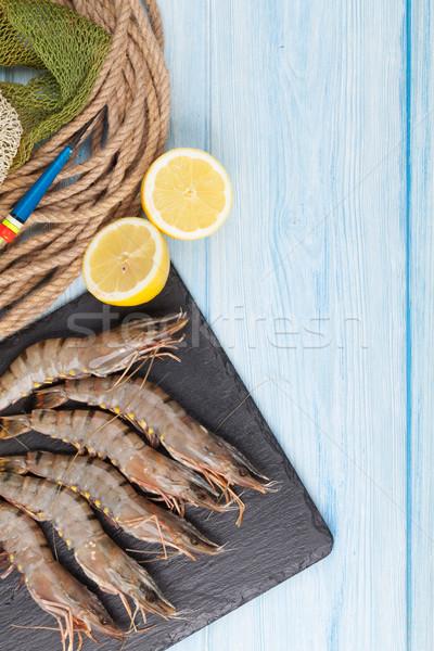 Vers ruw tijger vissen uitrusting Stockfoto © karandaev