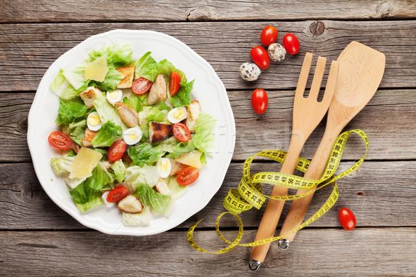 Fresh healthy salad Stock photo © karandaev