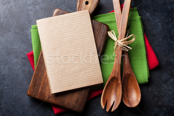 Old vintage kitchen utensils Stock photo © karandaev