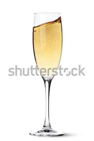 Champagne glass Stock photo © karandaev