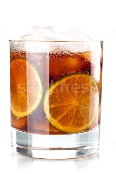 Alcohol cocktail collection - Cuba Libre Stock photo © karandaev