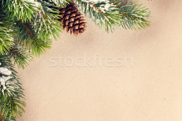 Christmas background Stock photo © karandaev