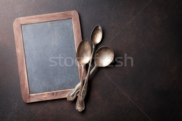 古い ヴィンテージ キッチン 側位 チョーク ストックフォト © karandaev