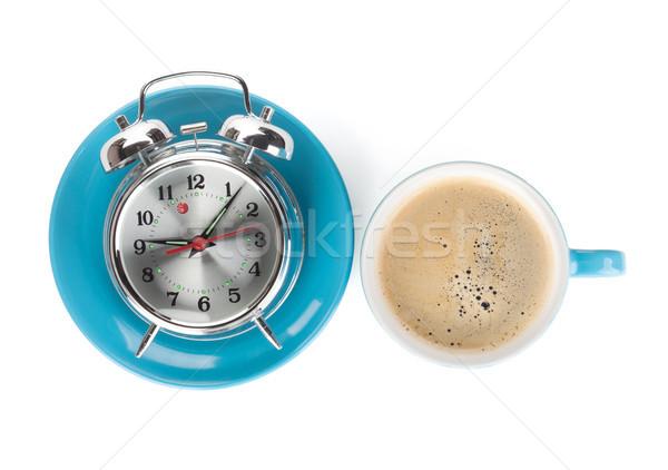 Morning coffee time Stock photo © karandaev