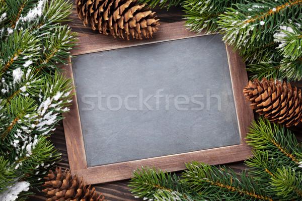 Noël tableau haut vue espace de copie Photo stock © karandaev