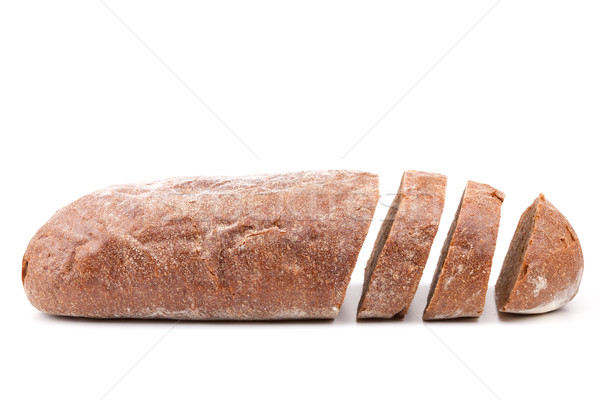 Stock photo: Sliced brown bread