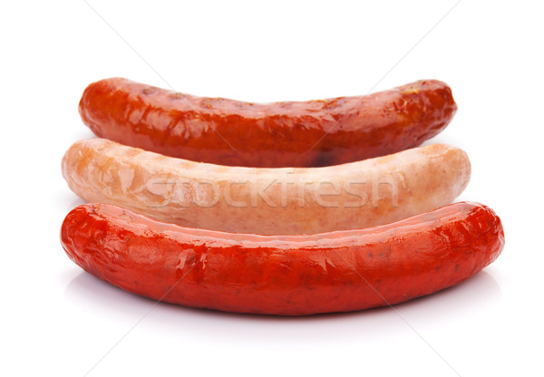 Various grilled sausages Stock photo © karandaev