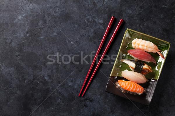 Set of sushi Stock photo © karandaev