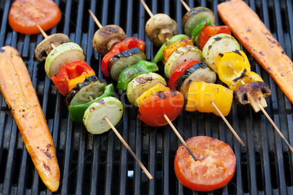 Grilled vegetables Stock photo © karandaev
