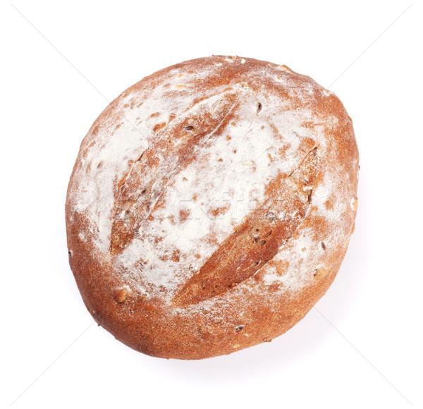 Loaf of crusty bread Stock photo © karandaev