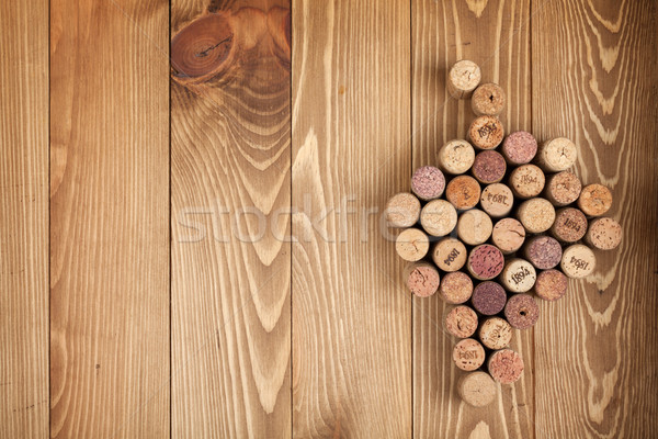 Grape shaped wine corks Stock photo © karandaev