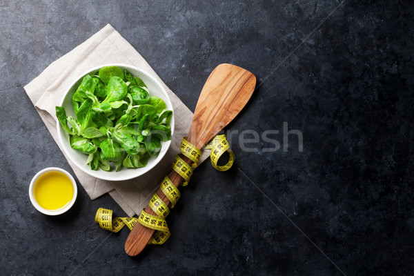 Healthy salad Stock photo © karandaev