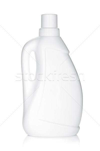 пластиковых бутылку очистки продукт изолированный белый Сток-фото © karandaev