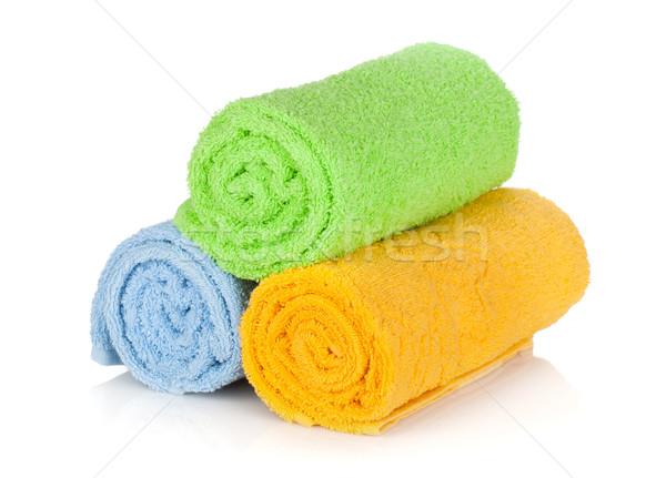 Multicolored towels Stock photo © karandaev