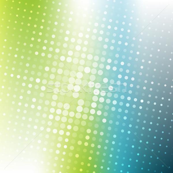 Absztrakt pontozott színes gradiens textúra üzlet Stock fotó © karandaev
