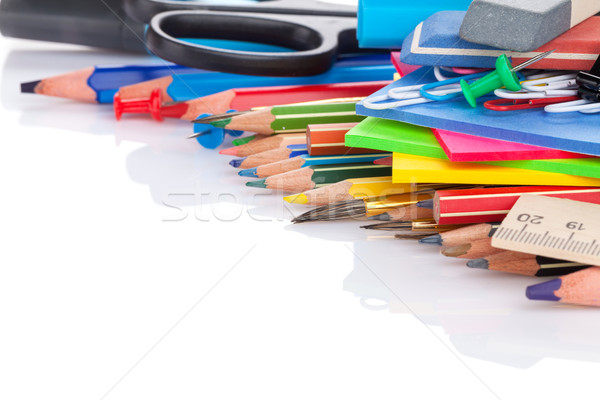 School and office supplies Stock photo © karandaev