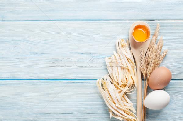Сток-фото: пасты · приготовления · Ингредиенты · Top