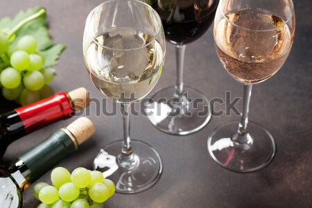 Red wine Stock photo © karandaev