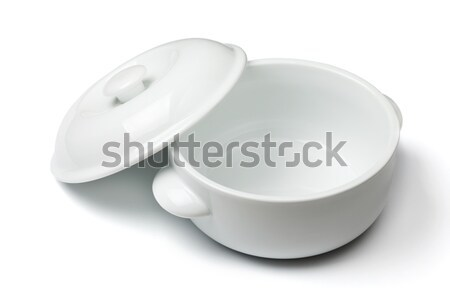 China soup dishware Stock photo © karandaev