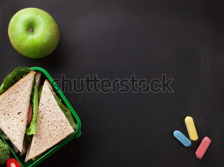 Lunch box Stock photo © karandaev