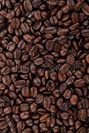 Coffee beans background Stock photo © karandaev