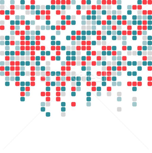 аннотация Пиксели мозаика красочный бизнеса дизайна Сток-фото © karandaev