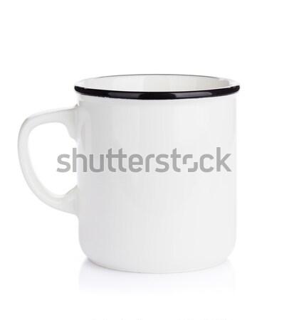 Empty clean cup Stock photo © karandaev