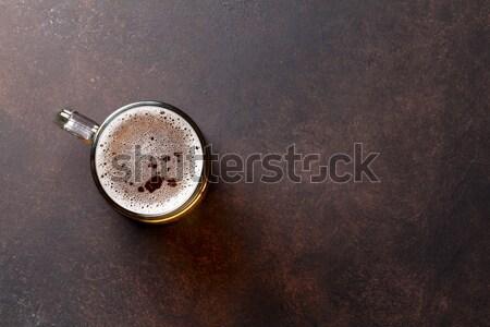 Lager beer mug Stock photo © karandaev