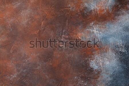 Rusted metal texture Stock photo © karandaev