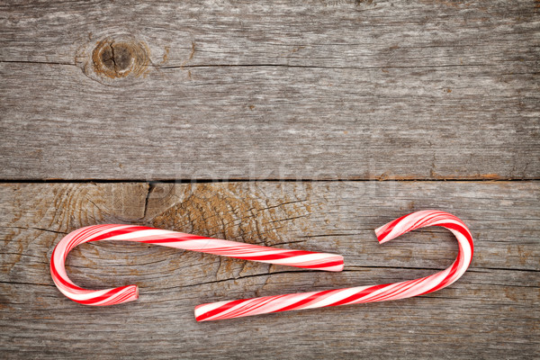 Dos dulces Navidad espacio de la copia Foto stock © karandaev