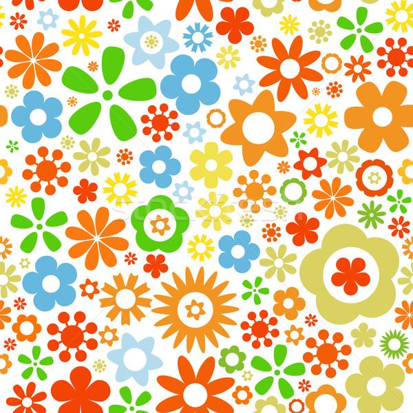 Сток-фото: цветок · различный · красочный · текстуры · весны